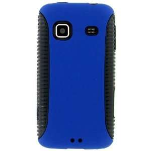 High Quality Durable Stylish Blue Hybrid Case Cover