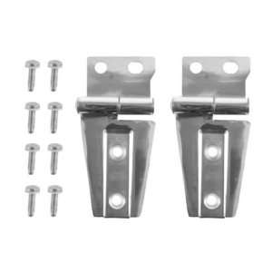 Omix Ada 11111.22 Stainless Steel Hood Hinge Kit