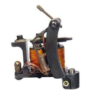 Tattoo Machine Gun W/10 Wrap Coils   Tattoo Machine Gun Supply