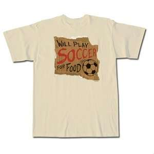 Pure Sport Soccer for Food T Shirt