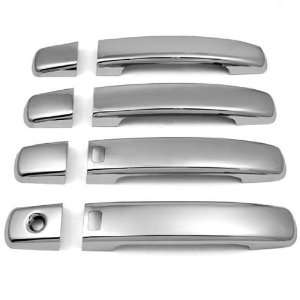 Automotive Chrome Door Handle Cover Trim Kit with 2 Smart Accesses no