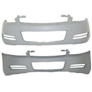Impala W/O Fog Holes Front Bumper Painted 42 Dark Tarnished Silver Met