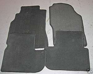 INFINITI G37 COUPE OEM CARPET FLOOR MATS   GRAPHITE 6MT