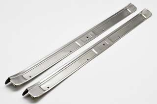 1969 Ford Mustang NEW Stainless Door Sill Plates