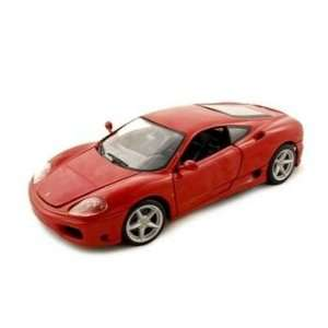 Ferrari 360 Modena Coupe Diecast Car Model Red 118 Toys