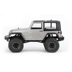 Pro Line 2009 Jeep Wrangler Clear Body Crawlers