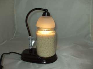 Signature Candle Lamp Warmer Fits Large Jar Yankee Candles