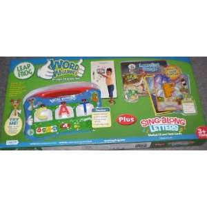 com LeapFrog Word Whammer Fridge Phonics Set Plus Sing aLong Letters