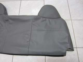 99   07 Ford F250 F350 F450 F550 XL Lean Back Vinyl Bench Seat Cover