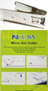 CUT Micro Sim Card Cutter for ipad iphone 4 2 adapter