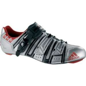 2008 adiStar Road Pro Road Cycling Shoe   Silver Sports