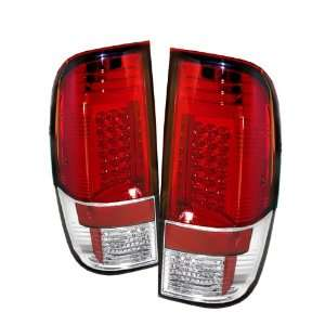 Spyder Auto Ford F250/350/450/550 Super Duty Red Clear LED Tail Light