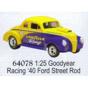 Speccast Goodyear Tires Racing 1940 Ford Street Rod Car