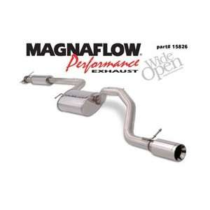 MagnaFlow Cat Back Exhaust System, for the 2004 Ford Focus