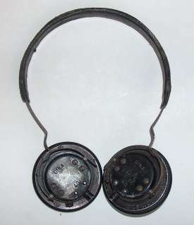 ORIGINAL WWII 1940 GERMAN WEHRMACHT RADIO HEADPHONES