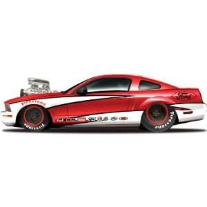2006 Ford Mustang GT Pro Street 124 Custom Red Toys & Games