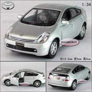 New 134 Toyota Prius Alloy Diecast Model Car Silver B215c