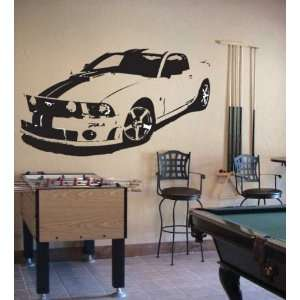 MUSTANG GT COBRA SHELBY Wall Decor Vinyl Decal Sticker
