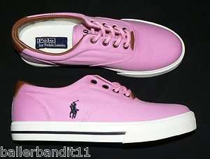 Youth Polo Ralph Lauren Vaughn shoes sneakers new girls 5 Pink