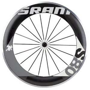 Sram S80 Wheel Black/Grey Front