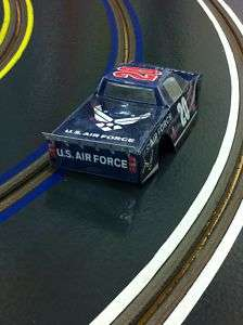 KOR 20 Blue US Airforce Chevy Silverado Race Truck Body