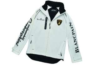 NEW 100% AUTHENTIC LAMBORGHINI MENS SUPER TROFEO SOFT SHELL JACKET