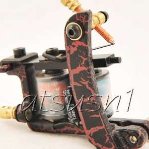 Made 10 Wrap Coil Tattoo Machine Gun UMC 008