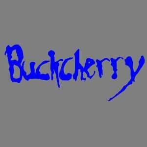 BUCK CHERRY (BLUE) DECAL STICKER WINDOW CAR TRUCK TRAILER