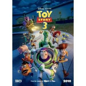 Toy Story 3 Original Movie Poster International Style