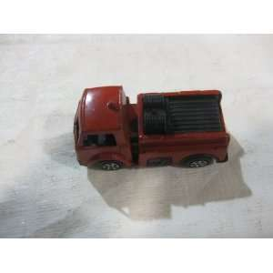 Tootsie Toy Red Fire Truck Chicago USA Toys & Games