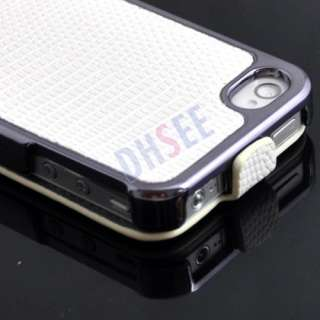 New Card Slot Gold Wallet Leather Side Case Cover for iPhone 4 4S Hot