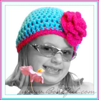 BOOAK Boutique GIRL BABY CUSTOM 2 4 6 *KNIT Crocheted HAT Disney