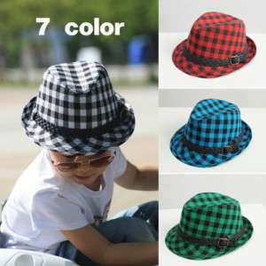 NWT Lovely Toddler kids baby boys girls fedora Hat cap