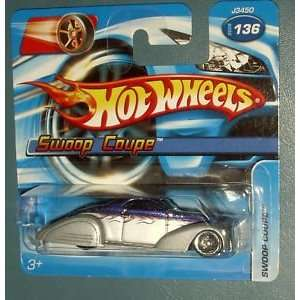 Hot Wheels Swoop Coupe SHORT CARD #136 (2006) Everything