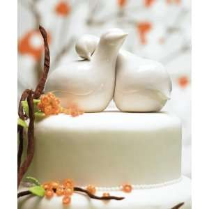 Baby Keepsake Contemporary Love Birds Cake Topper Baby