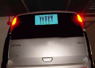 SC01 Sound Activated Car Stickers/equalized/EL light