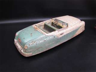 Vintage Marx Toys Tin Litho Friction Sportster Car