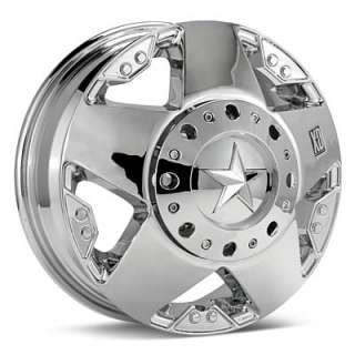 KMC XD Series Rockstar Dually (Chrome Plated)