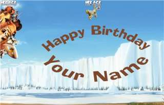 Ice Age   Scrat   Edible Cake Topper   $3.00 shipping