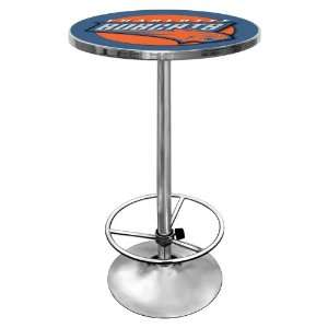 NBA Charlotte Bobcats Chrome Pub Table