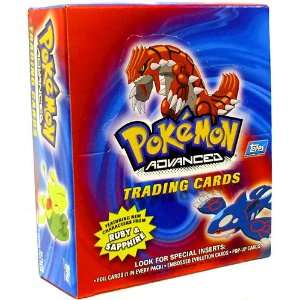 Topps Pokemon Advanced Trading Cards Booster Box 24 Packs