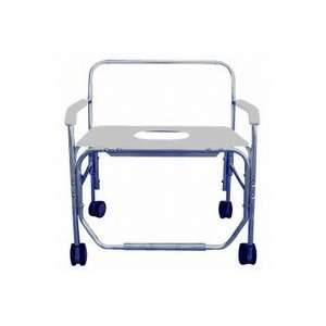 Heavy Duty Shower/Commode Chair   with Bench Seat   with