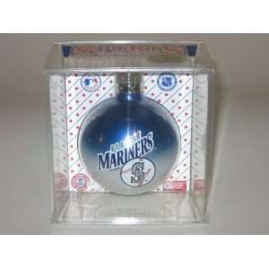 SEATTLE MARINERS (2 5/8 In Diameter) Multi Color CHRISTMAS ORNAMENT