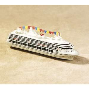 4.5 Party Cruise Ship Boat Christmas Ornament