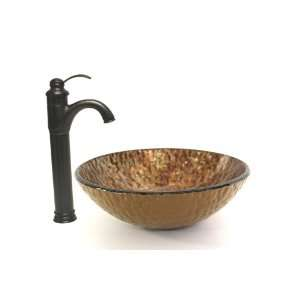 Oil Rubbed Brone Finish Faucet & Oil Rubbed Bronze Finish Pop up Drain