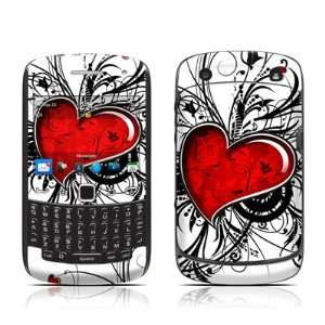 My Heart Design Protective Skin Decal Sticker for Blackberry