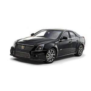 2009 CADILLAC CTS V in BLACK RAVEN W/ RED TAIL LIGHTS by