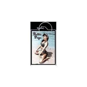 Beach Bunny Bettie Page Keychain Toys & Games