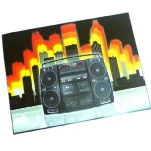 Sound Activated T Shirt Panel   Boombox Toys & Games