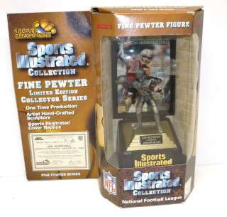 Sports Illustrated Sports Champions Pewter Figure in Sealed Box
